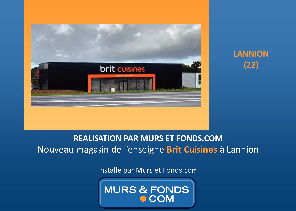LOCAL COMMERCIAL LOUE A LANNION - PERROS GUIREC