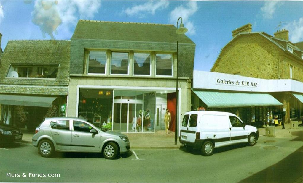 22 - Perros Guirec, centre ville - Local commercial à louer d'une surface de 170 m²