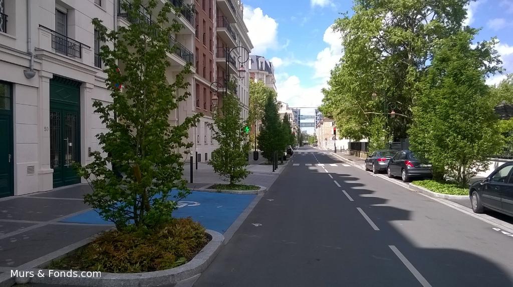 La Garenne Colombes / Champs-Philippe, murs libres 78 m² avec parking double