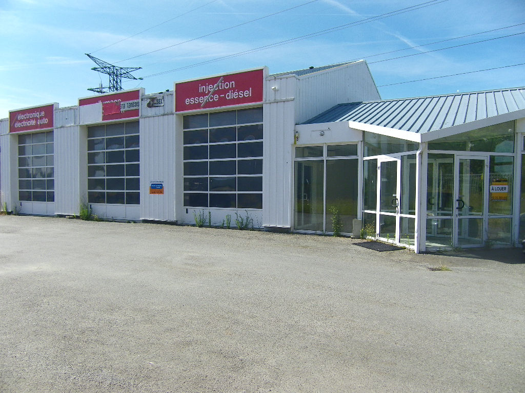 35 - Saint-Malo, zone commerciale, local commercial de 500 m² à louer