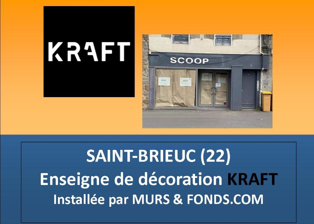 22 - SAINT BRIEUC CENTRE - RUE SAINT GUILLAUME - LOCAL COMMERCIAL A LOUER