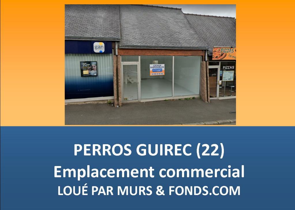 PERROS GUIREC - Local commercial Perros Guirec 35 m2