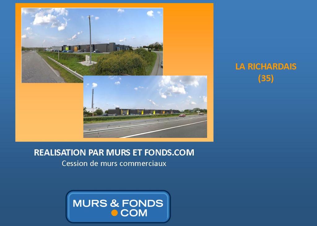 35 - La Richardais - Murs  commerciaux  de 2873 m² au total