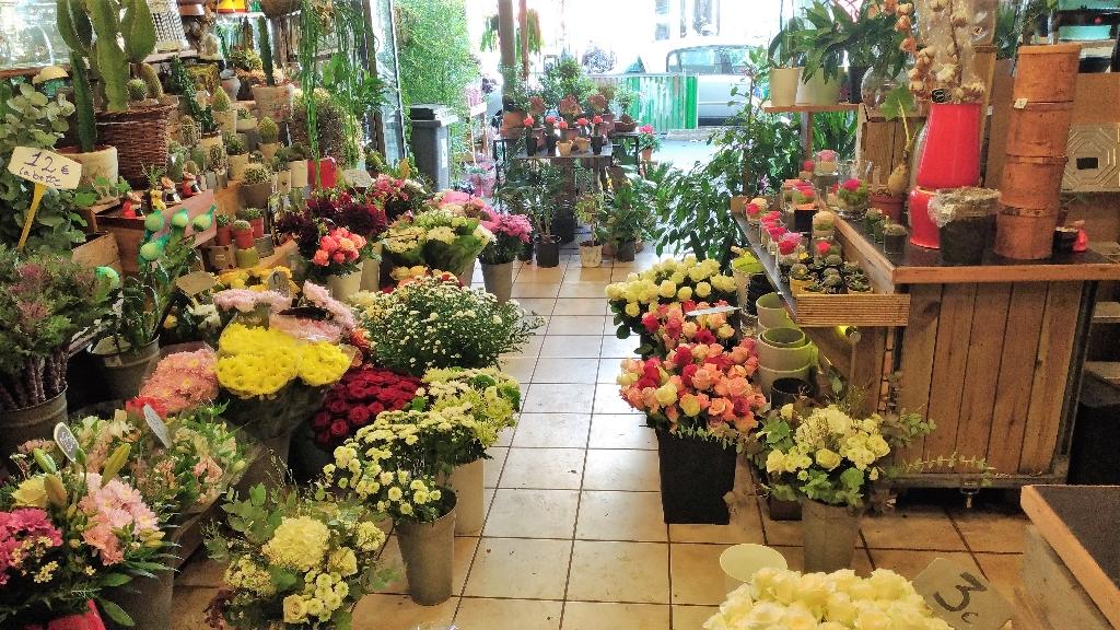 Boulogne, Axe principal Fonds de commerce Fleuriste