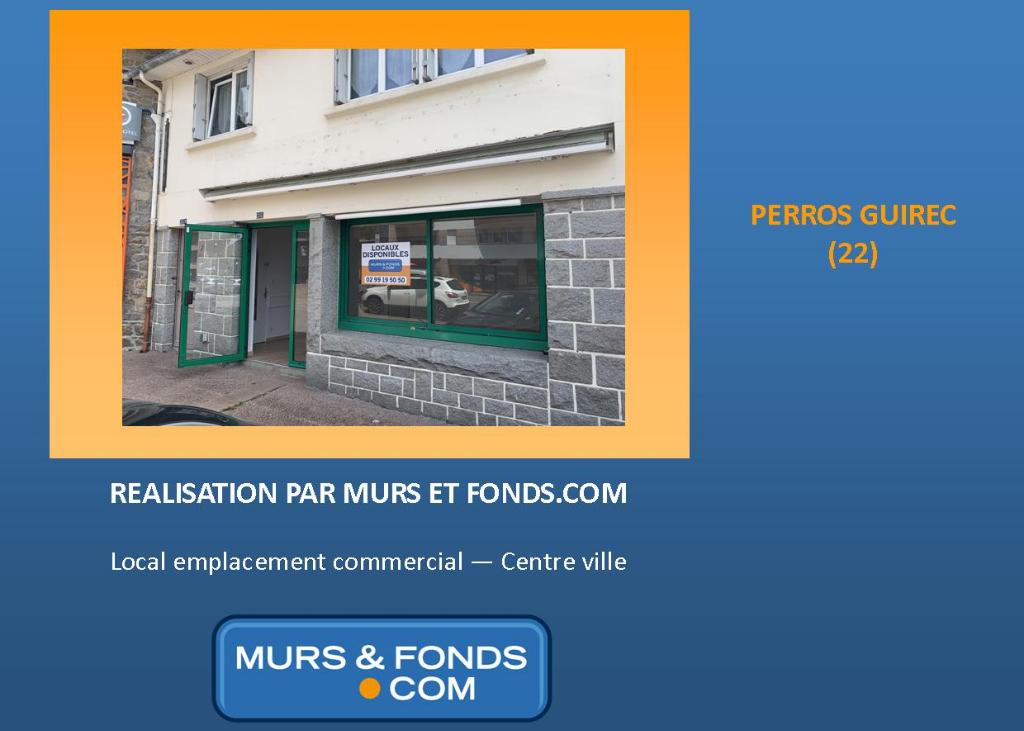 22 - Perros-Guirec - Centre vile - Local commercial à louer