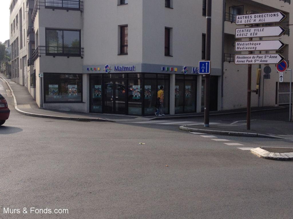 VENDU PAR MURS ET FONDS.COM - LANNION - DROIT AU BAIL LOCAL COMMERCIAL DE 110 m²