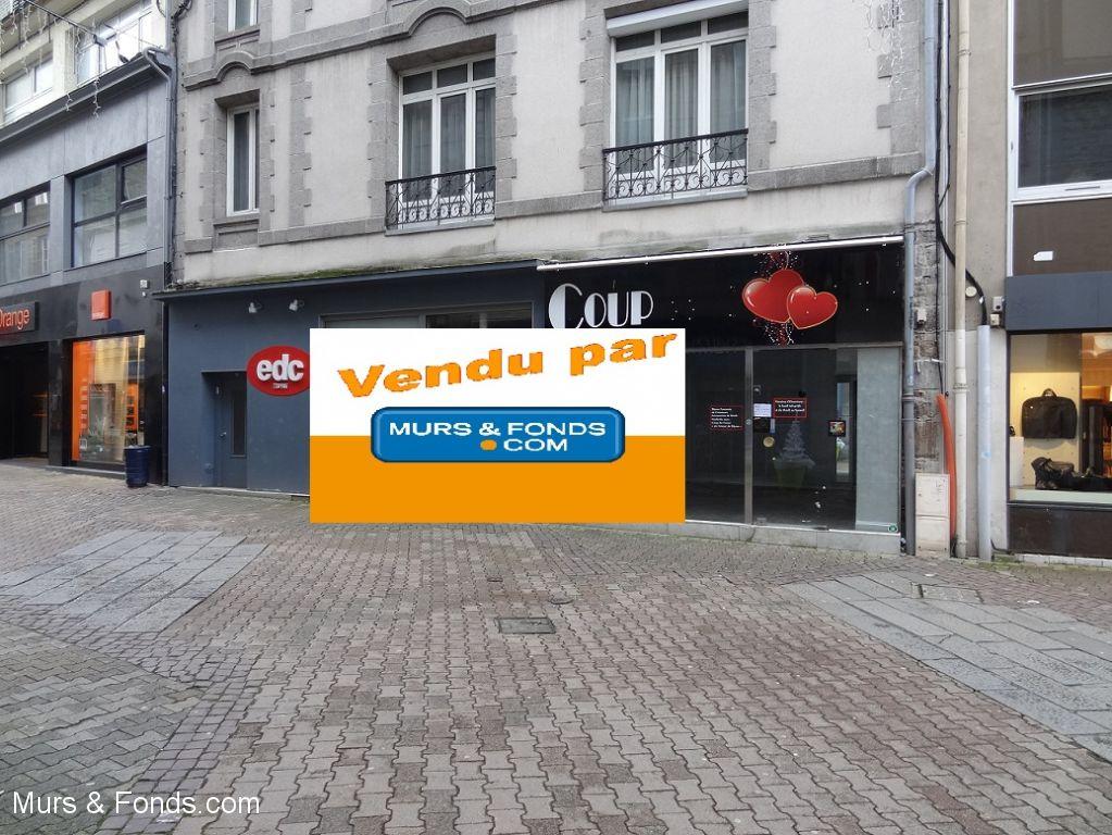 DROIT AU BAIL - SAINT BRIEUC CENTRE VILLE PIETON - VENDU PAR MURS ET FONDS.COM