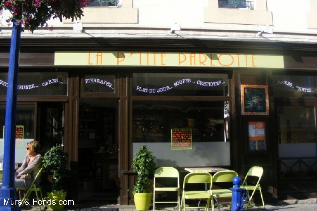 LA P'TITE PARLOTTE (Restaurant -  Salon de Thé - Café) - Vendu par Murs&Fonds.com