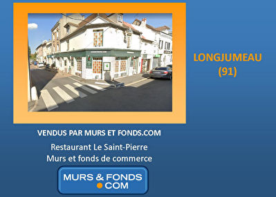 91 - Longjumeau - Fonds de commerce de restaurant ou Murs à...